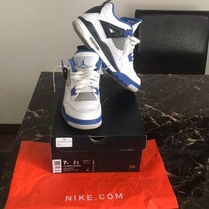 Jordan Shoes - Men's Retro Air Jordan 4 Size 7Y